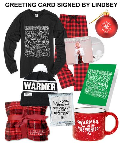 Lindsey Stirling Warmer In The Winter Bundle #3 *PREORDER SHIPS 10/19