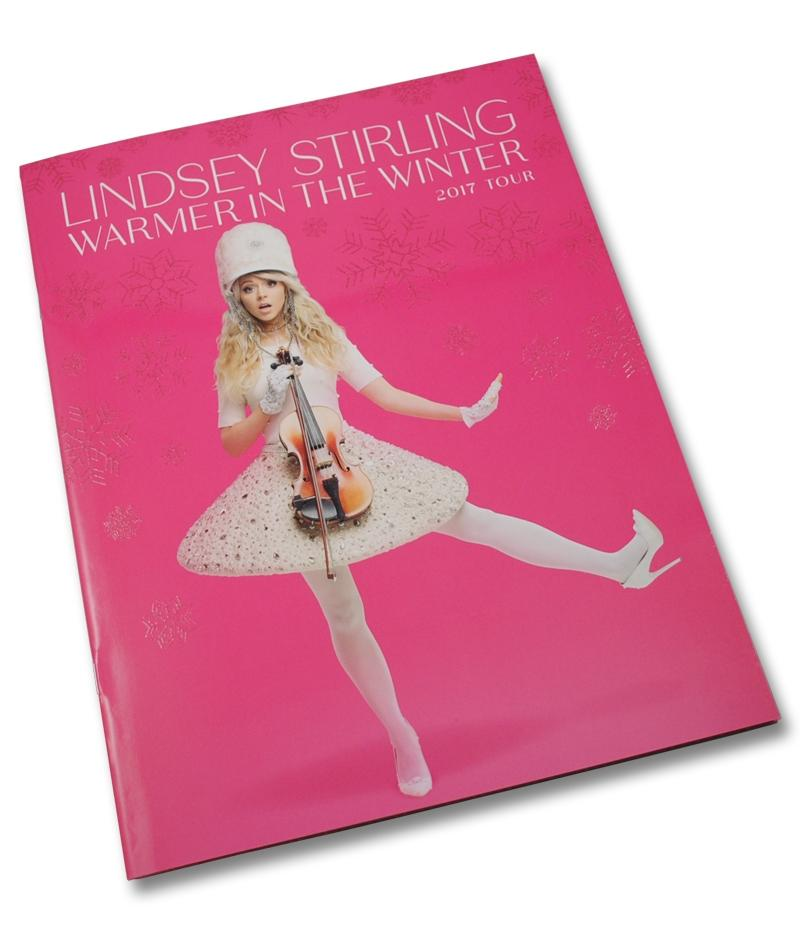 Lindsey Stirling Warmer In The Winter Tour Program