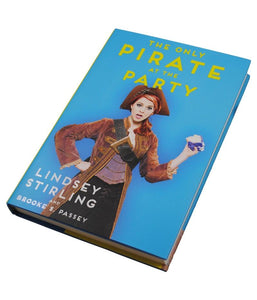 Lindsey Stirling The Only Pirate At The Party Hardcover Book