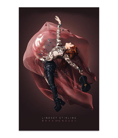 Lindsey Stirling Brave Enough Album Cover Poster