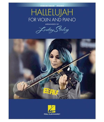 Lindsey Stirling Hallelujah For Violin And Piano Music Book