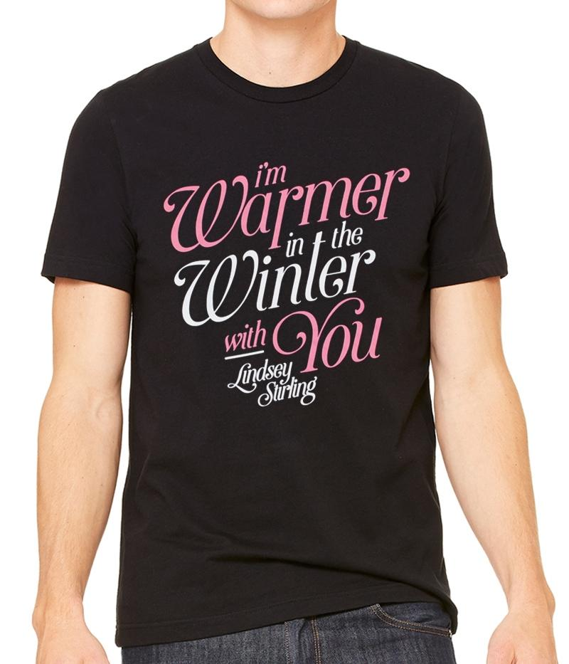Lindsey Stirling Warmer With You Shirt