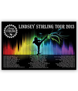 Lindsey Stirling Full Spectrum Tour Poster