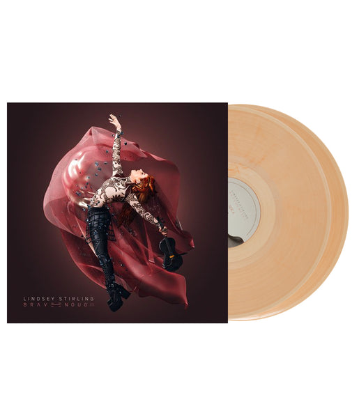 Lindsey Stirling - Brave Enough Double Vinyl (Clear / Red Swirled)