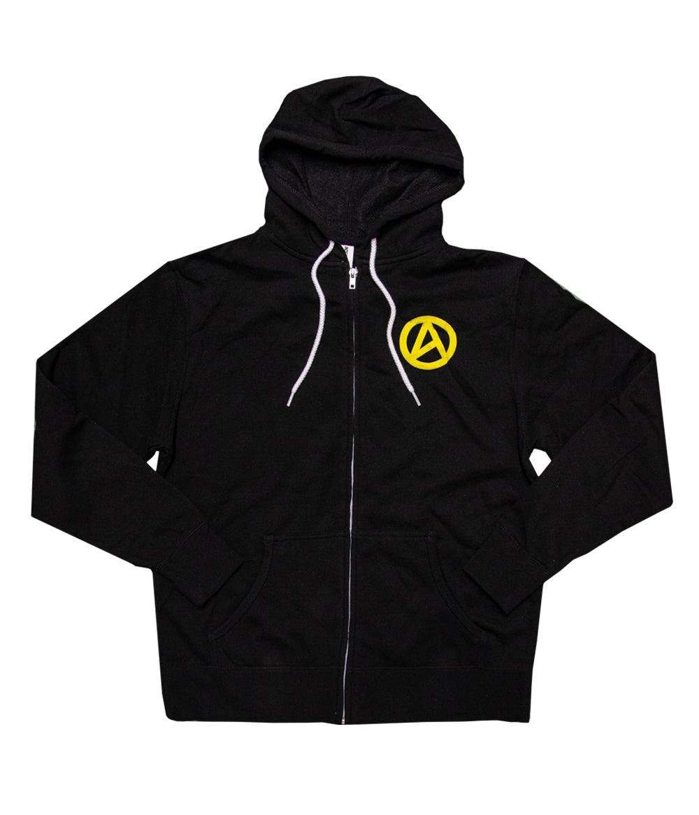 Lindsey Stirling Outline Zip Hooded Sweatshirt