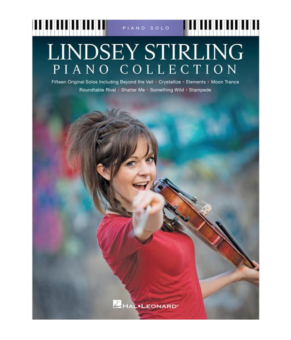 Lindsey Stirling Piano Collection Music Book (Piano Solo / Purple)