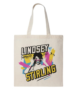 Lindsey Stirling Pop Photo Tote Bag