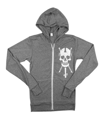 Lindsey Stirling Skull Pirate Zip Hooded Sweatshirt