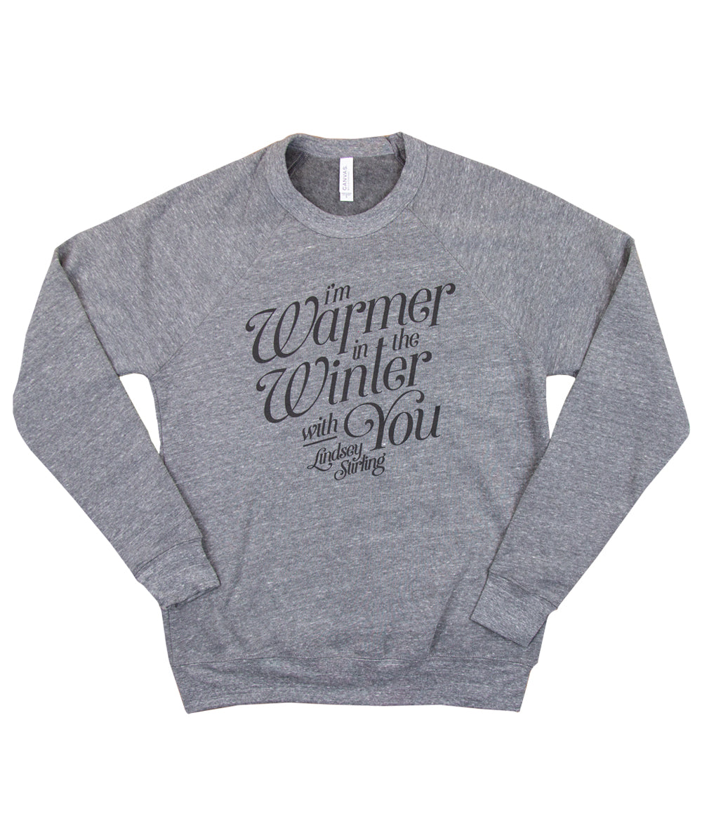 Lindsey Stirling Warmer In The Winter Crewneck Sweatshirt