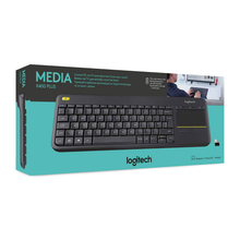 Load image into Gallery viewer, מקלדת מגע אלחוטי  LOGITECH K400 Plus