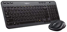 Load image into Gallery viewer, סט מקלדת ועכבר אלחוטי Logitech MK360