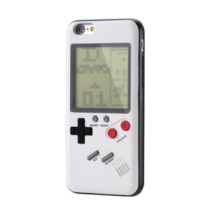 Playable Retro Game Boy iPhone Case - Black & White