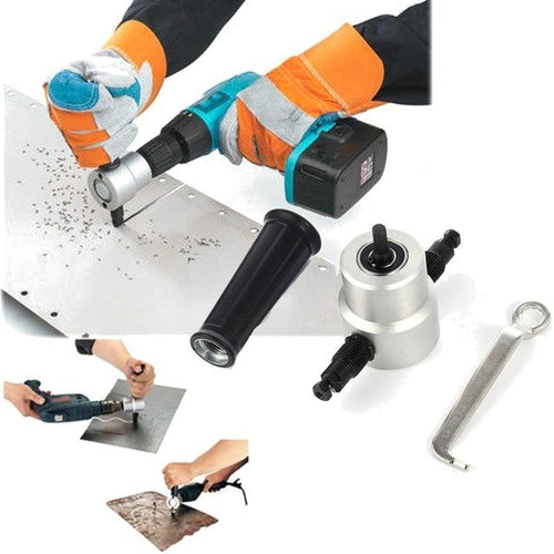 Nibbler Metal Cutting Drill Attachment