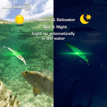 LED Minnow Robotic Swimming Lure