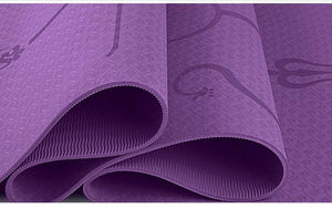 Premium Yoga Mat with Position Alignment System