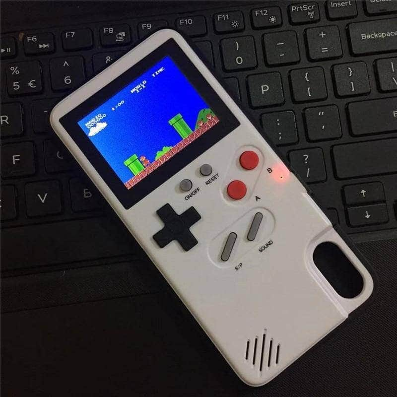 Gameboy Iphone Case Full Color Playable Retro Gaming Bopspot
