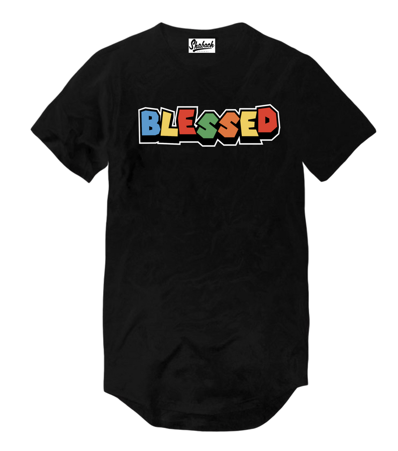Blessed - Scoop T-Shirt - Black
