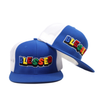 Blessed Snapback - Blue/White