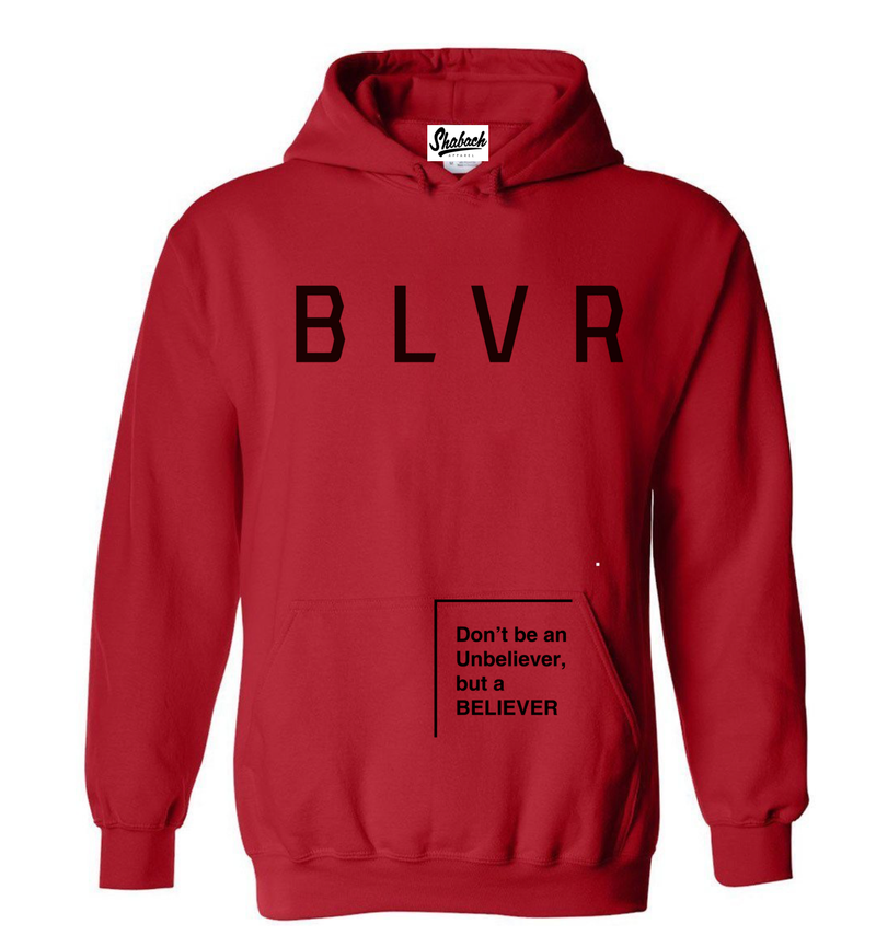 Youth Red BLVR Hoodie