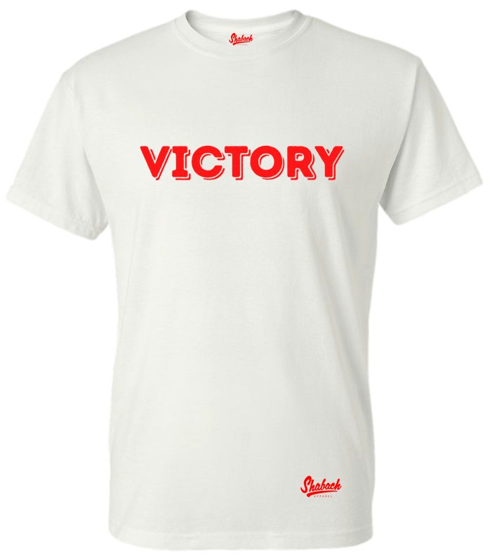 White/Red Victory T-Shirt