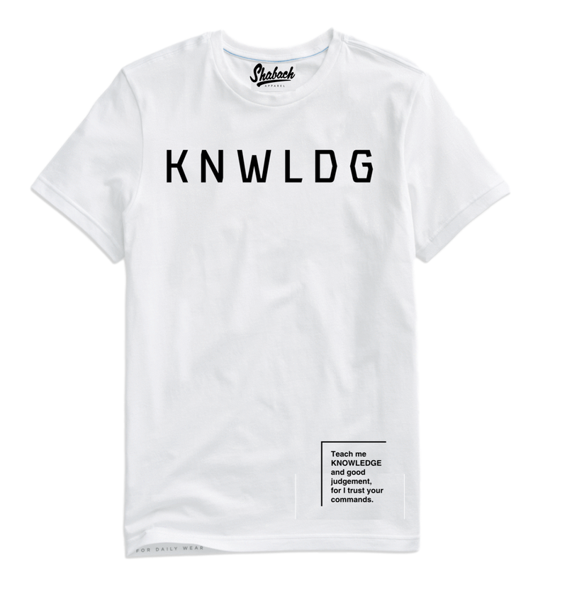 White Knowledge T-Shirt