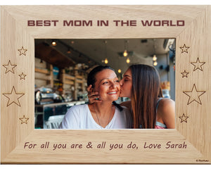 Mom Personalized Picture Frames Renkatacom