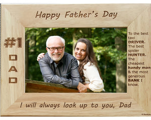 Fathers Day Best Dad Personalized Picture Frame Renkatacom