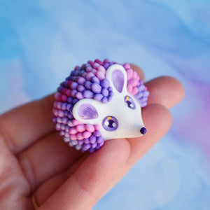 Purple Pink Succulent Hedgehog