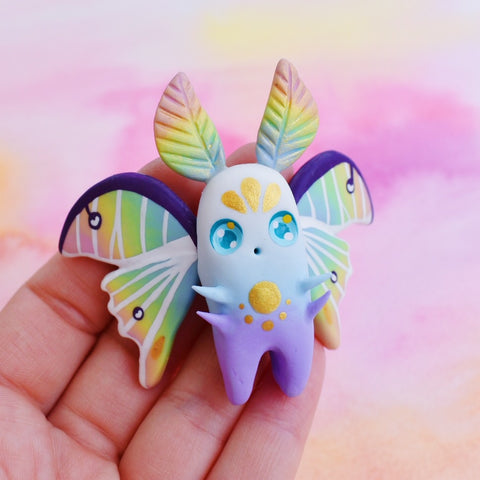 *Discounted* Rainbow Butterfly n°1 - Sky Collection