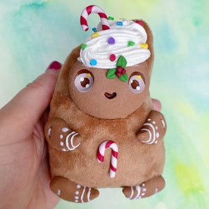 Happy Gingerbread Friend - Art Doll #11