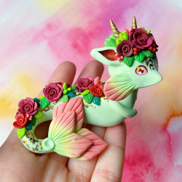 Fall Leaf Dragon - Roses - Fall Collection