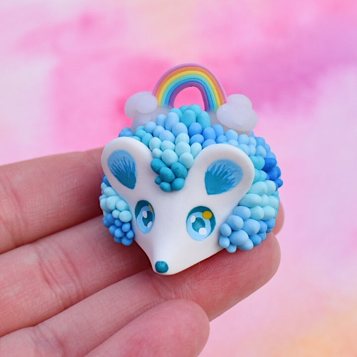 Sky n' Rainbow Hedgehog n°2 - Sky Collection