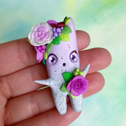Cute Granite Wisp - Pink & Purple Roses