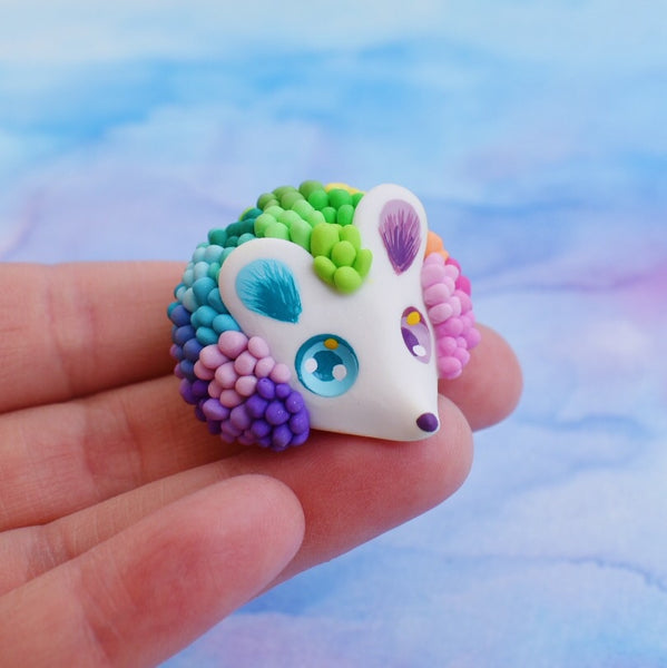 Rainbow Hedgehog n°1 - Sky Collection