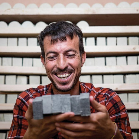 Men's soap. Made by refugees. Creating jobs in Iraq.