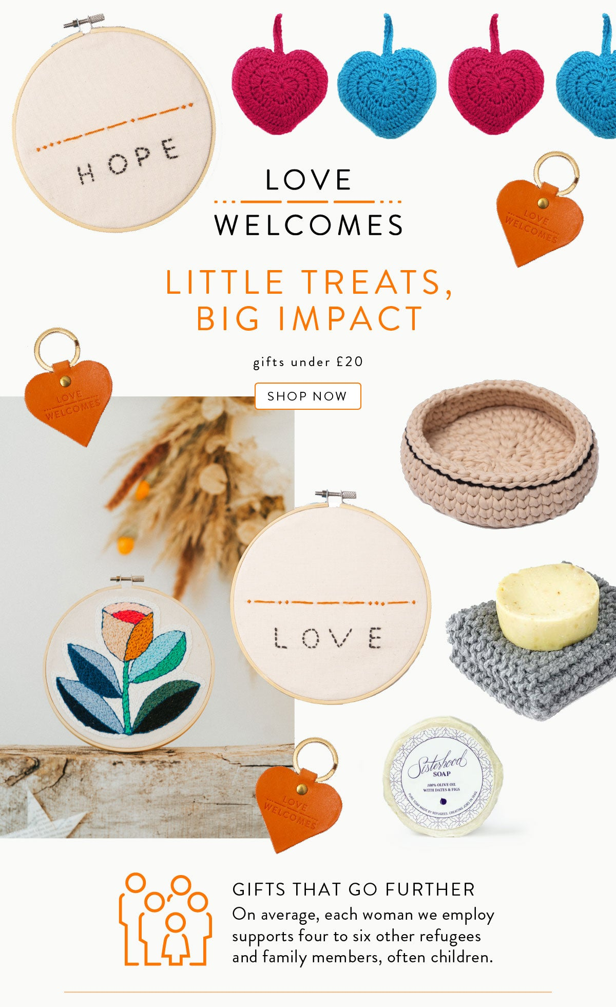 LITTLE TREATS,BIG IMPACT, gifts under £20