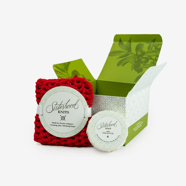 Sisterhood Soap Olive Oil Gift Set - Love Welcomes