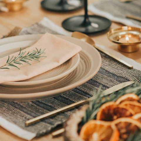 Placemats – Stone - Love Welcomes