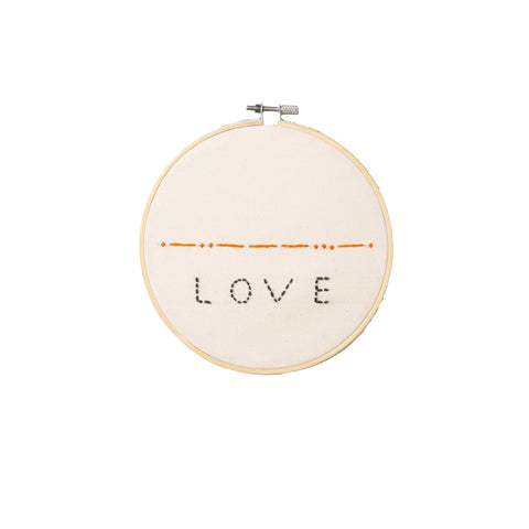 Embroidery Hoop – Love - Love Welcomes