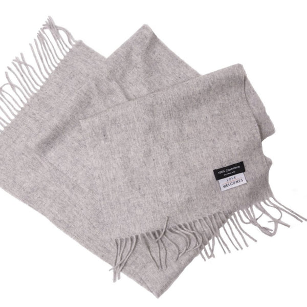 Cashmere Scarf - Love Welcomes