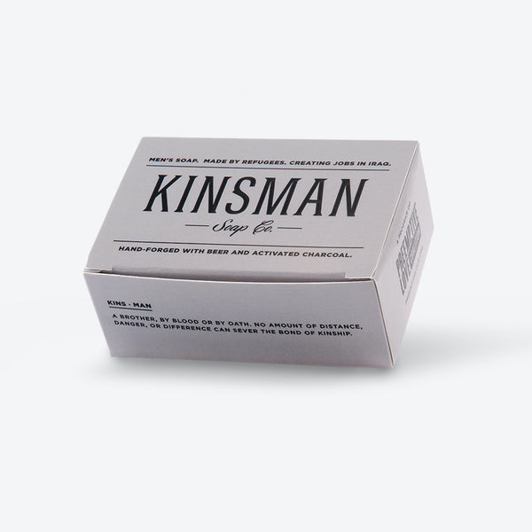 Kinsman Soap, Activated Charcoal - Love Welcomes