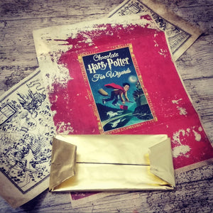 Harry Potter Tableta de Chocolate Primer Libro