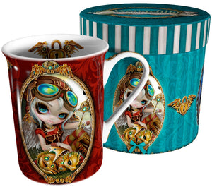 Taza Steampunk Dragonling Jasmine Becket-Griffith