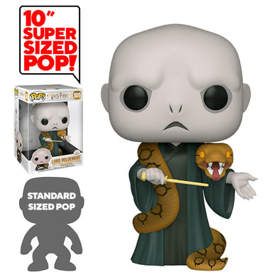 Harry Potter Super Sized 10'' POP! Vinyl Voldemort with Nagini
