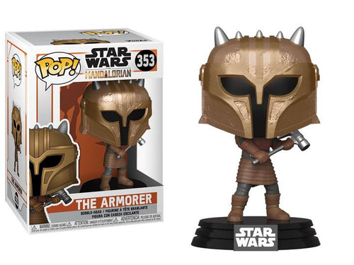 Star Wars Mandalorian POP! Vinyl The Armorer