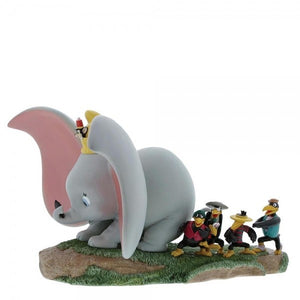 Take Flight Figura Dumbo, Timothy, Jim Crow & Hermanos
