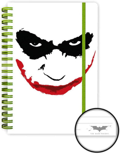 The Dark Knight Cuaderno Anillado Joker