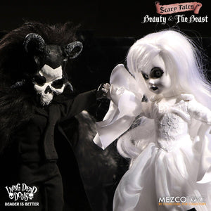 Living Dead Dolls Scary Tales Set de 2 Muñecos Beauty and the Beast