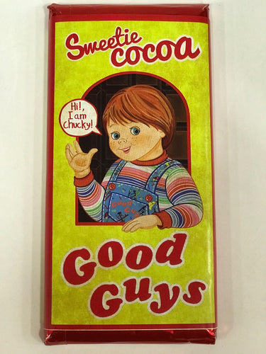 Chucky Tableta de Chocolate Good Guys