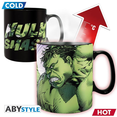 Marvel Comics Taza Sensitiva al calor Hulk Smash